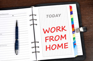 Is sending an email asking to work from home enough?